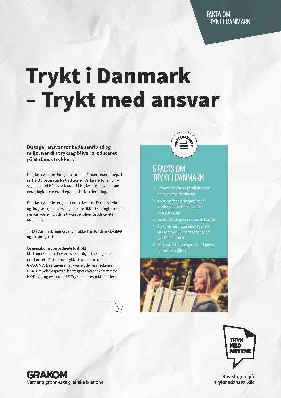 Trykt i Danmark